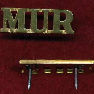 MUR - Shoulder Title (A/A)