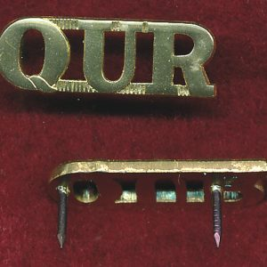 QUR - Shoulder Title (x1)  (A/A)