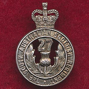 27 INF BN Collar Badge (53/60)