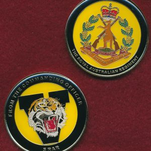 5 RAR  Unit Challenge Coin - Commanding Officer