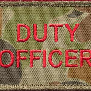 Duty Officer patch (DPCU)