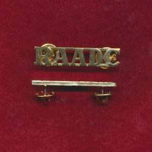 Shoulder Title - RAADC  (A/A)