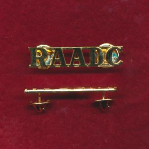 Shoulder Title - RAADC  (P/97)