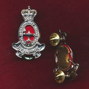 Hat Badge - RAANC  (Officers) (P/97)