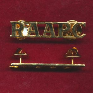Shoulder Title - RAAPC  (Post 1997 - Briteshine)