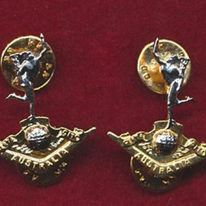 Collar Badges - RA SIGS  (post 97 Pair)