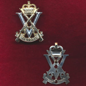 RVR Hat Badge  (60/85) (Stokes)