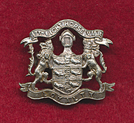 "17th ""Campaspe Valley"" Light Horse (VMR) Collar Badge (12/18)"