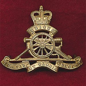Hat Badge - RAA  ORs (53/60)