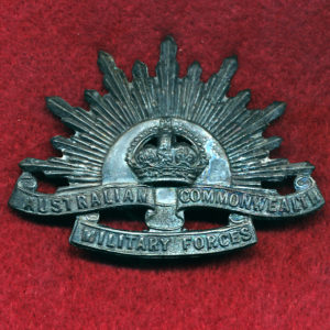 Hat Badge - G.S. Rising Sun (ACMF) (GSRS0064)