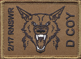2/17 RNSWR - D COY Field Patch
